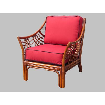 Rainey Solid Armchair Finish: Brown