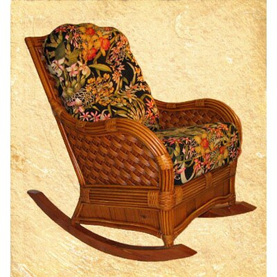Kingston Reef Rocking Chair KRR-CIN-Wild Orchid Black