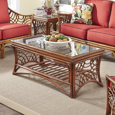 Bali Coffee Table Base Finish: Brown
