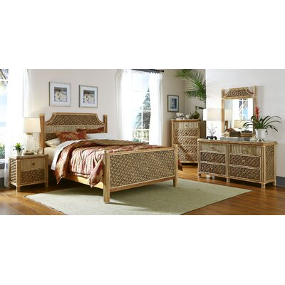 Mandalay Panel 5 Piece Bedroom Set Size: Queen