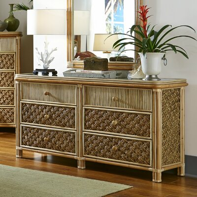 Mandalay 6 Drawer Standard Dresser