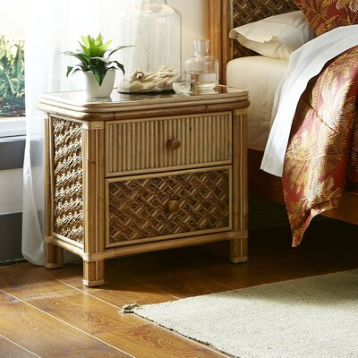 Mandalay 2 Drawer Nightstand