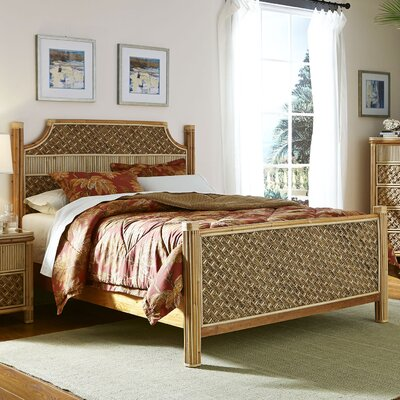 Mandalay Panel Headboard and Footboard Size: Queen