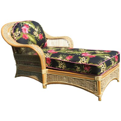 Chaise Lounge Upholstery: Hamakua Ebony