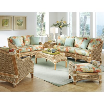 Mauna Loa Wicker Conversation Set