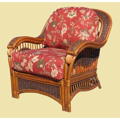 Seascape Armchair Fabric: Sienna