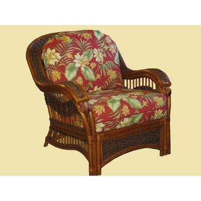 Seascape Arm Chair Fabric: Siesta Pompeii