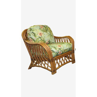 Montego Bay Barrel Chair Upholstery: Sienna
