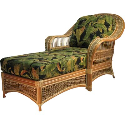 Chaise Lounge Upholstery: Lucian Flint