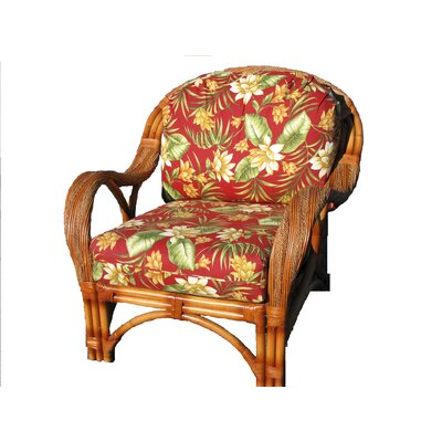 Abha Barrel Chair Body Fabric: Siesta Pompeii