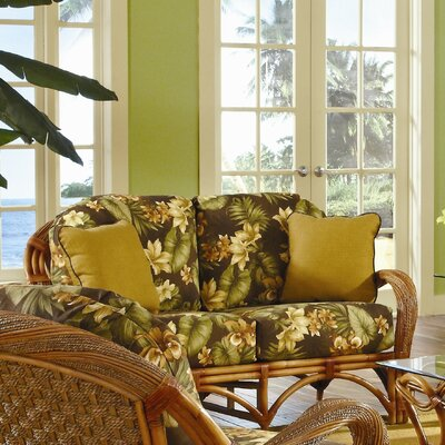 Abha Loveseat Upholstery: Garden Scroll
