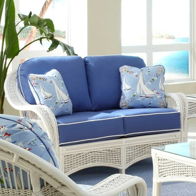 Regatta Loveseat Upholstery: Montfluer Surf