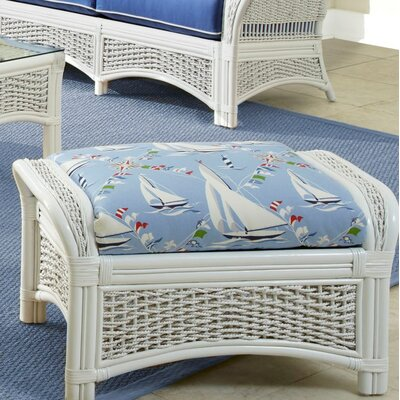 Regatta Ottoman Upholstery: Lucian Flint