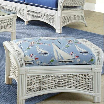 Regatta Ottoman Upholstery: Glamour Indigo