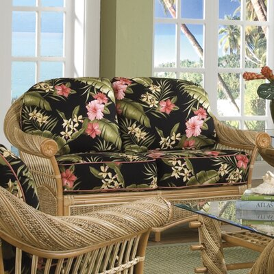 Maui Twist Loveseat Upholstery: Freeport Summer