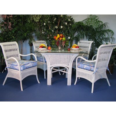 Regatta 10 Piece Dining Set Fabric: Lucian Flint