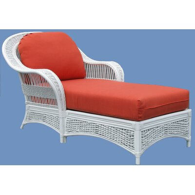 Regatta Chaise Lounge Upholstery: Hampton Summer