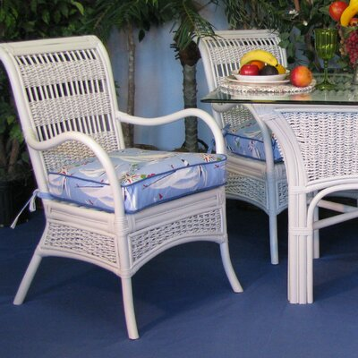 Regatta Dining Chair (Set of 2) Upholstery: Montfluer Surf