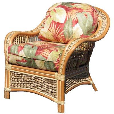 Islander Barrel Chair Fabric: Botanical Fern