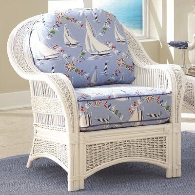 Regatta Armchair Fabric: Lucian Flint