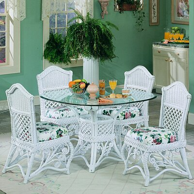 Gazebo Dining Table Finish: White
