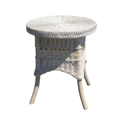 End Table Color: Whitewash, Size: 19