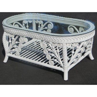 Mathys Coffee Table Table Base Color: White
