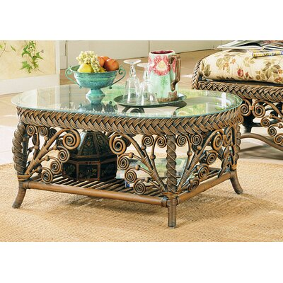 Mathys Coffee Table Table Base Color: Brown Wash