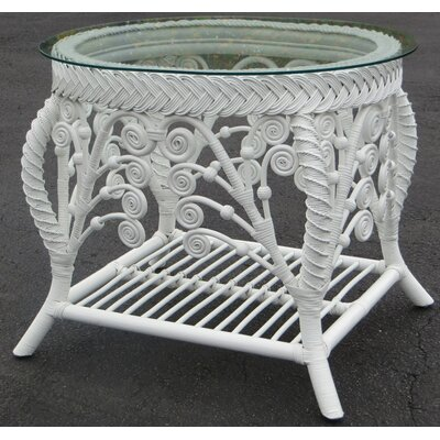 Patnode End Table Table Base Color: White