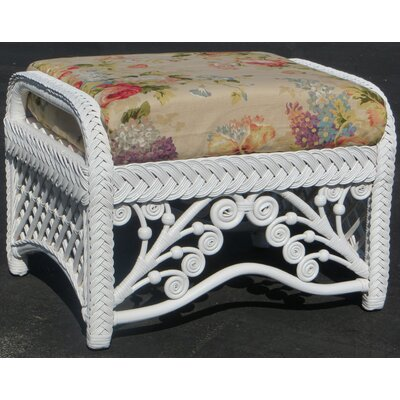 Patnode Ottoman Upholstery: Sweet Violet