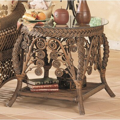 Patnode End Table Table Base Color: Brownwash
