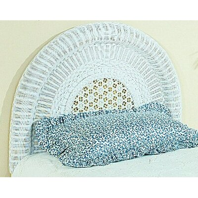 Wicker Panel Headboard Size: Twin