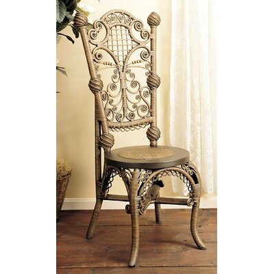 Ladies Reception Side Chair Finish: Brownwash
