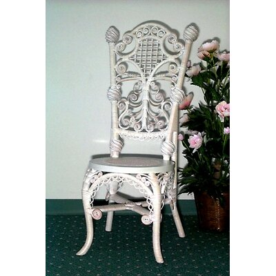 Ladies Reception Side Chair Color: Whitewash