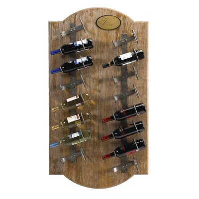 Belfield 16 Bottle Wall Mounted Wine Rack Finish: Natural
