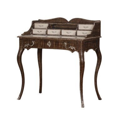 Parc Saint-Germain Secretary Desk Finish: Ivory