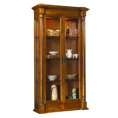 Pyrenees Curio Cabinet Finish: Coffee Brown
