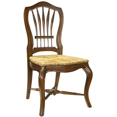 Provence Solid Wood Dining Chair Finish: Coffee Brown