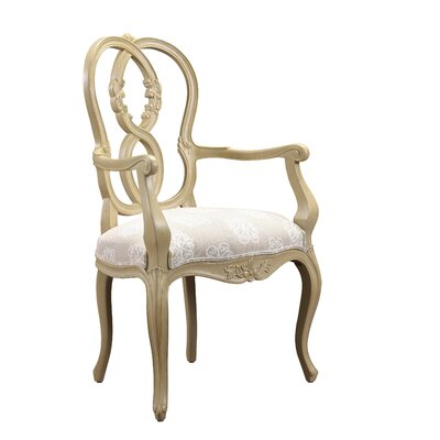 Parc Saint-Germain Arm Chair Finish: Beige / Light Sand