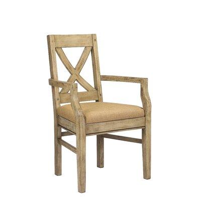 Pyrenees Arm Chair Finish: Driftwood Cream