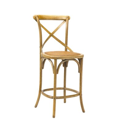 Longworth 26 Bar Stool Finish: Light Oak