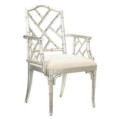 Eastridge Solid Wood Dining Chair Finish: Silver