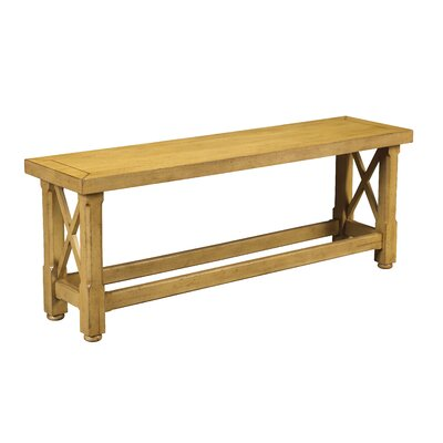 Chasseur Wood Kitchen Bench Color: Teak