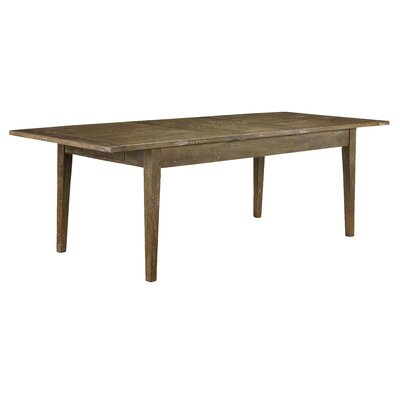 Plaisance Extendable Dining Table Finish: Antique Iron