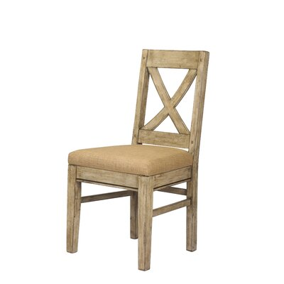 Pyrenees Side Chair Finish: Driftwood Cream