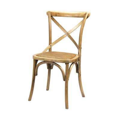 Longworth Solid Wood Dining Chair Finish: Light Oak