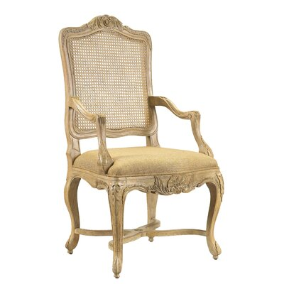 Pizano Solid Wood Dining Chair Finish: Gold