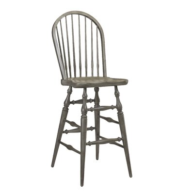 Furniture-Morlaine Bar Stool Finish Gray