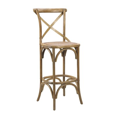 Bosquet Bar Stool Finish: Light Oak