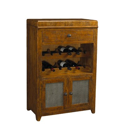 French Accents 12 Bottle Floor Wine Cabinet